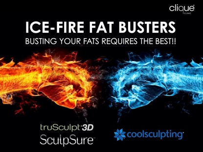 Coolsculpting Ice-Fire Fat Busters