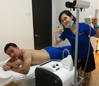 Dr Bob Coolsculpting with Sculpsure 2